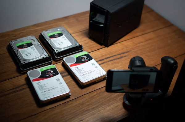 Photographer Simon Pollock swapping in new Seagate IronWolf hard drives