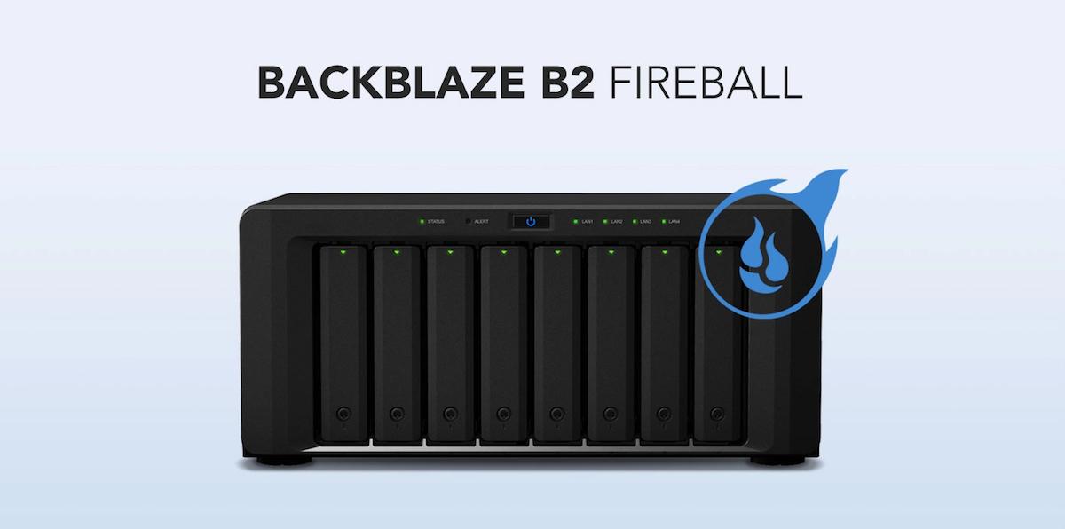 Backblaze B2 Fireball