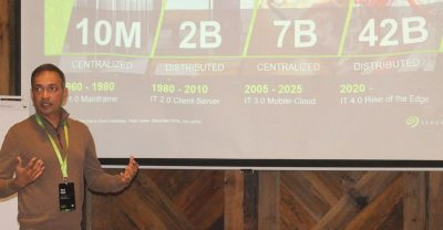 "Seagate CIO Ravi Naik speaks about data challenges in a ""multi-cloud"" world."