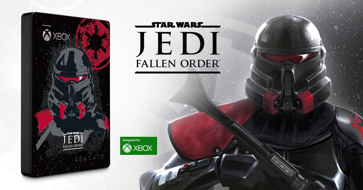 Help Rebuild the Jedi Order With Seagate's New Star Wars Jedi: Fallen™ Order-Themed Special Edition Game Drive for Xbox
