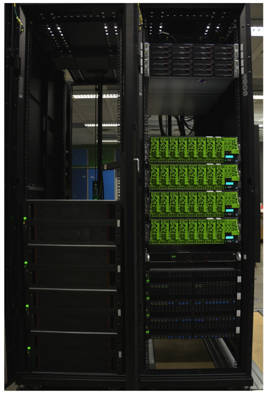 The prototype at the Jülich Supercomputing Centre, Germany, used for SAGE and Sage2.